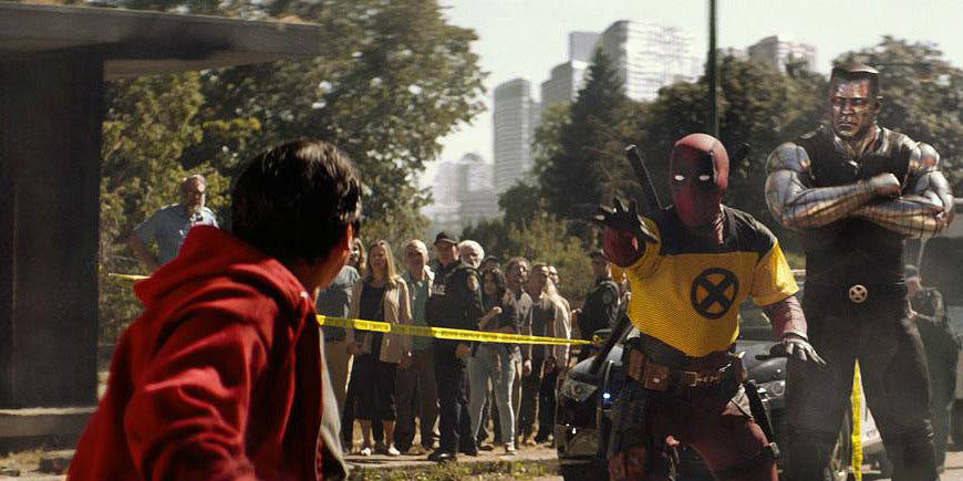 deadpool dois firefists colossus